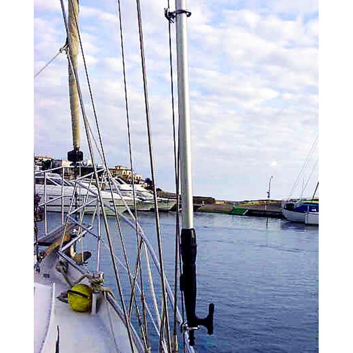 Wantenhalterung für Bootshaken
