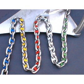 Chainmarkers in colour for the anchor-chain 6 mm